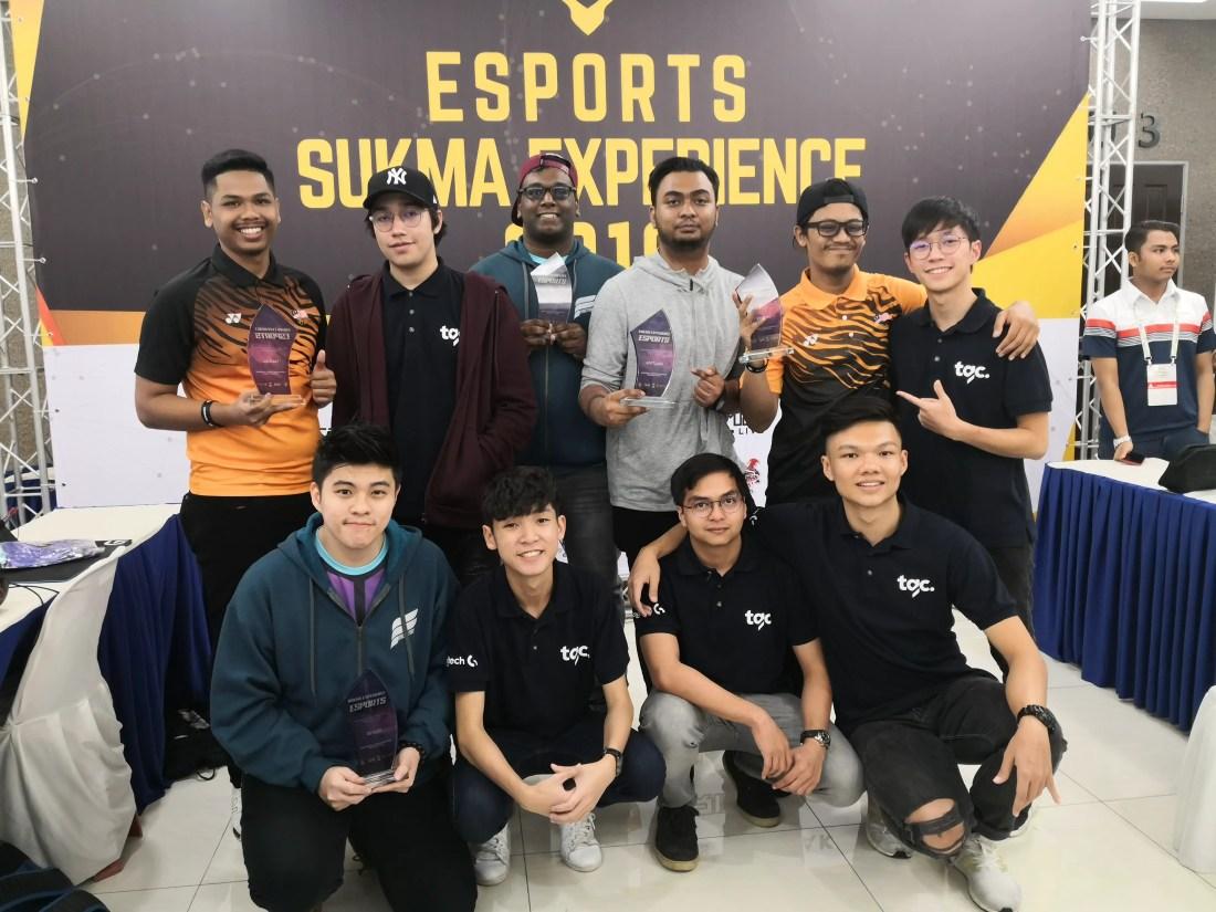 eSports SUKMA Experience - Athletes of eSports SUKMA Experience