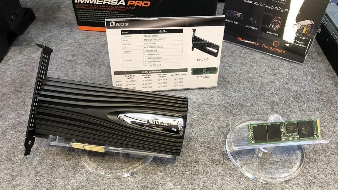 Plextor M10Pe M.2 PCIe SSD
