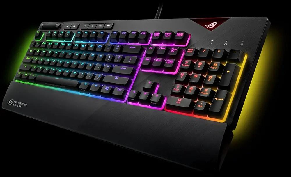 ROG Strix Flare RGB Mechanical Keyboard Gaming (1)
