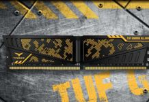 T-FORCE VULCAN TUF Gaming Alliance DDR4 Memory Kit header