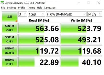 T-Force Delta Max 500GB 1GB Crystal Disk Mark (1)