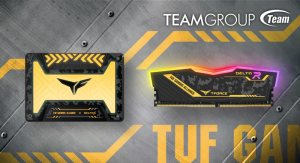 TEAMGROUP T-Force Delta RGB DDR4 SSD TUF Gaming Featured