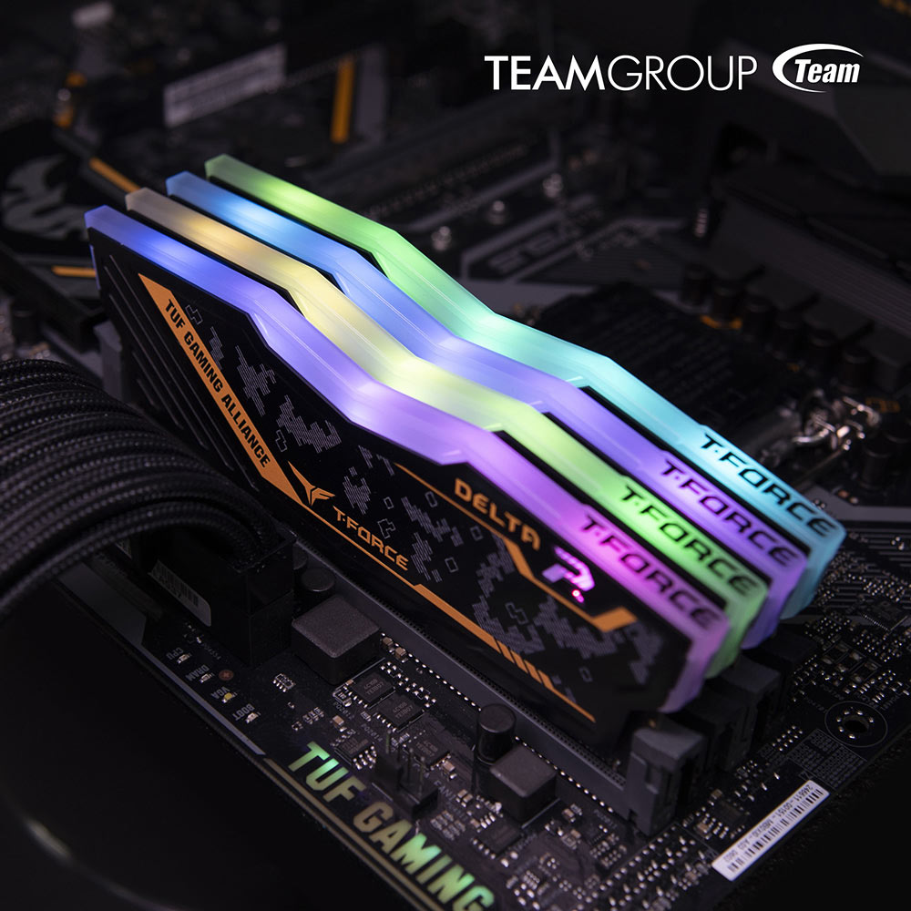 TEAMGROUP T-Force Delta RGB DDR4 TUF Gaming