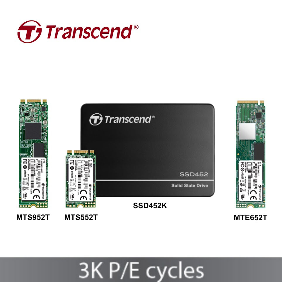 Transcend Unveils Industrial Grade SSD with 96-layer 3D NAND 3
