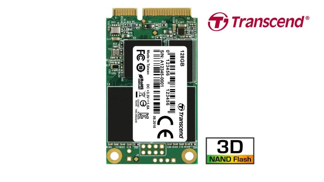 Transcend MSA230S mSATA SSD