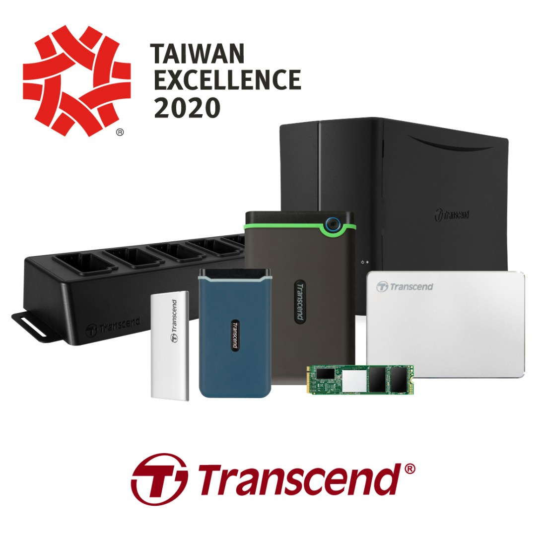 Transcend Taiwan Excellence 2020