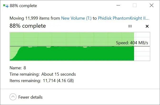 USB-C SSD to PhantomKnight 480GB