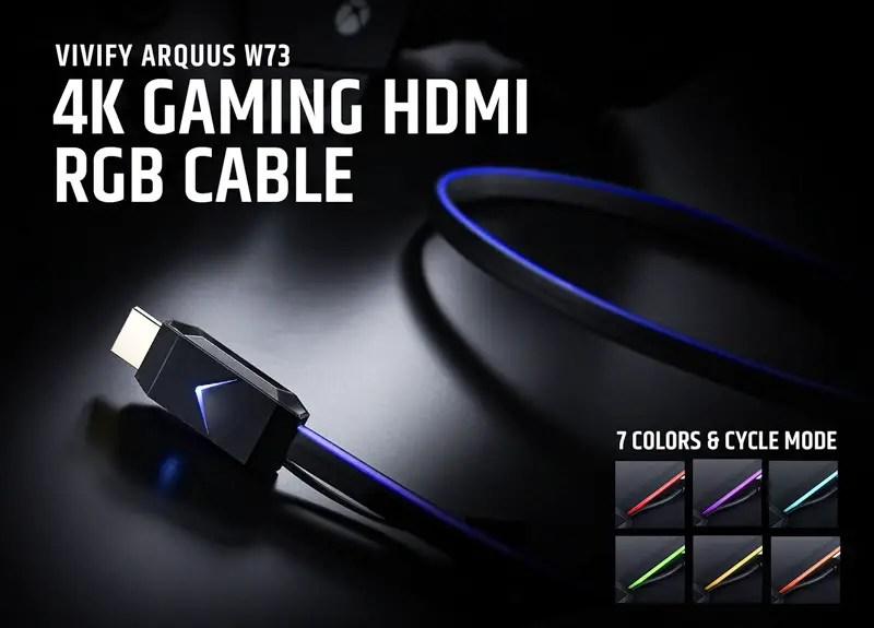 VIVIFY ARQUUS W73 4K Gaming HDMI 2.0b RGB Cable (1)