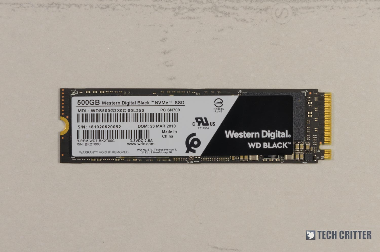 Unboxing & Review - WD Black 3D NAND NVMe SSD 500GB