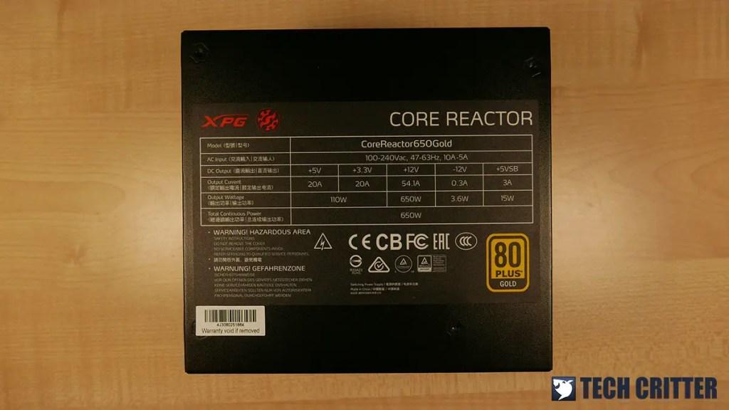XPG CORE REACTOR 650 GOLD (13)