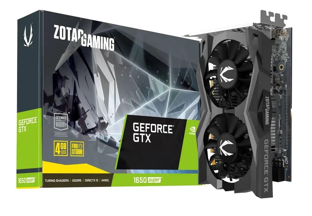 ZOTAC Announced Its New GTX 1660 SUPER and GTX 1650 SUPER 3