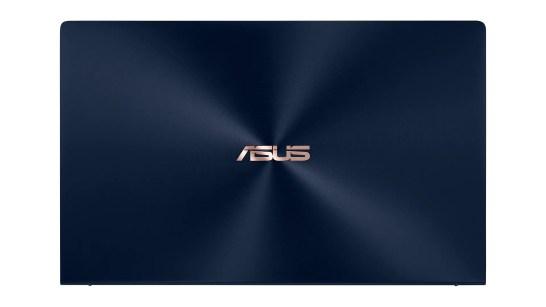 ZenBook 14_UX434_Royal Blue_iconic spun brush finish