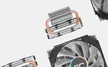 cryorig computex 2018 frostbit M.2 NVMe SSD Cooler c7 rgb low profile cpu cooler