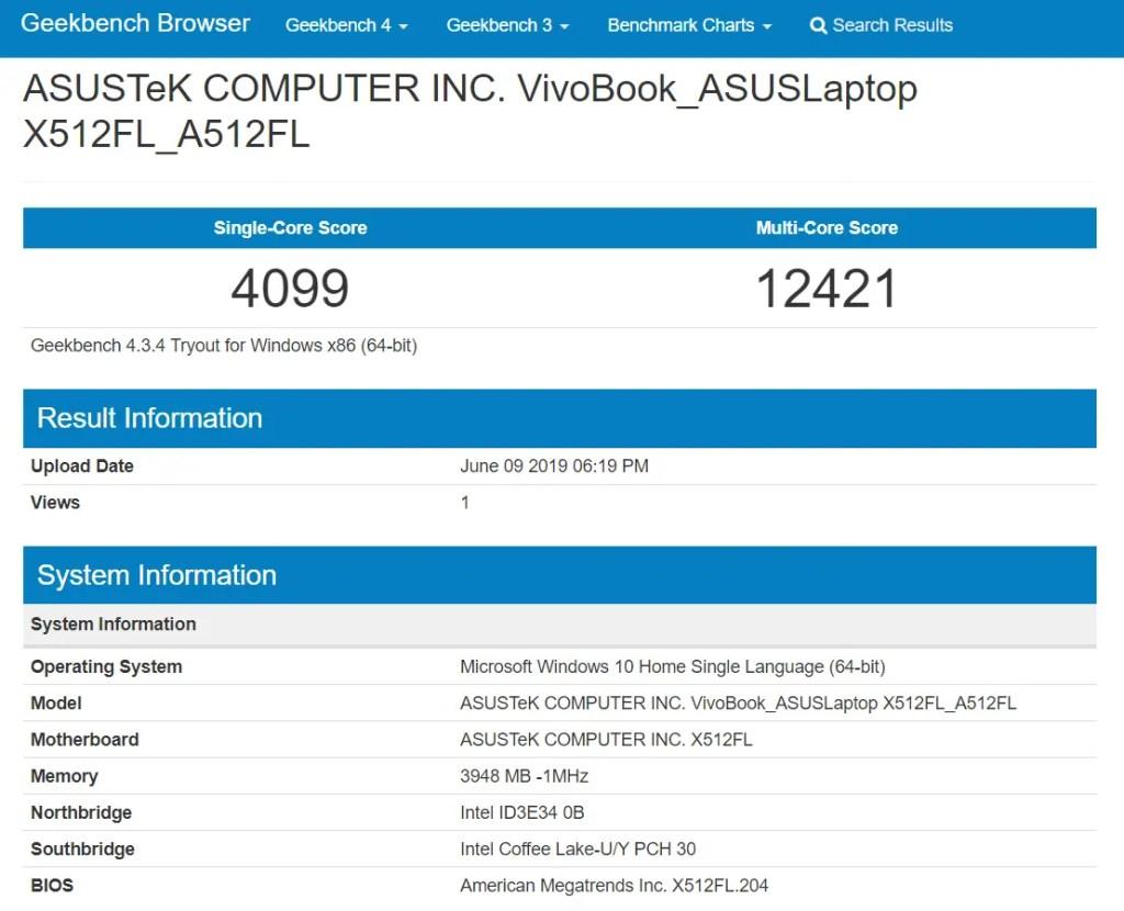 Review - ASUS VivoBook Ultra A512 51