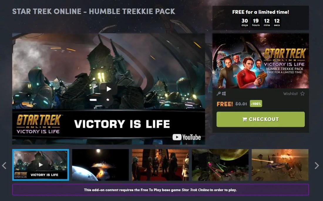 humble bundle star trek online humble trekkie pack free game featured