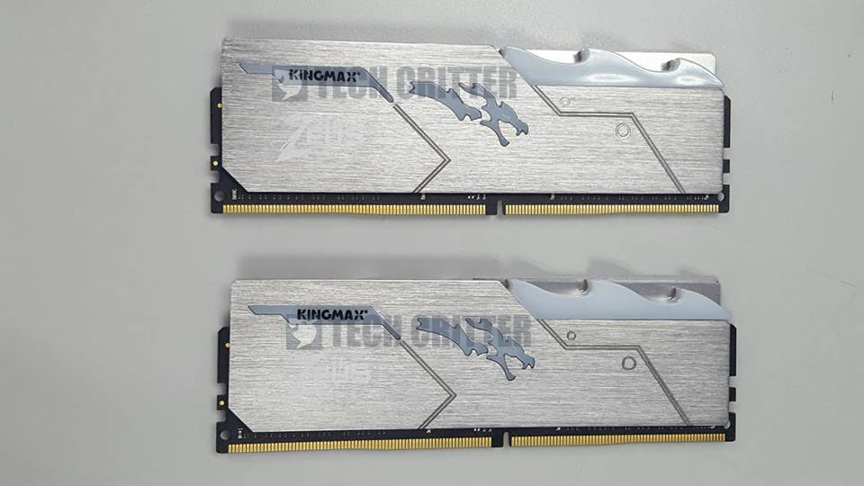 Kingmax Releases Zeus Dragon DDR4 RGB , Speed Up to 3466MHz