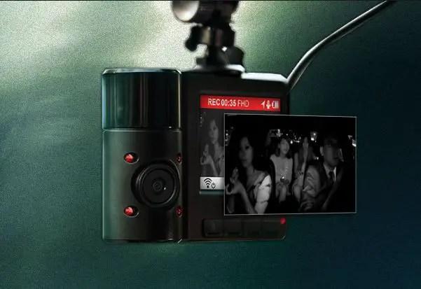 ranscend DrivePro 550 Dashcam Dual Lense (2)