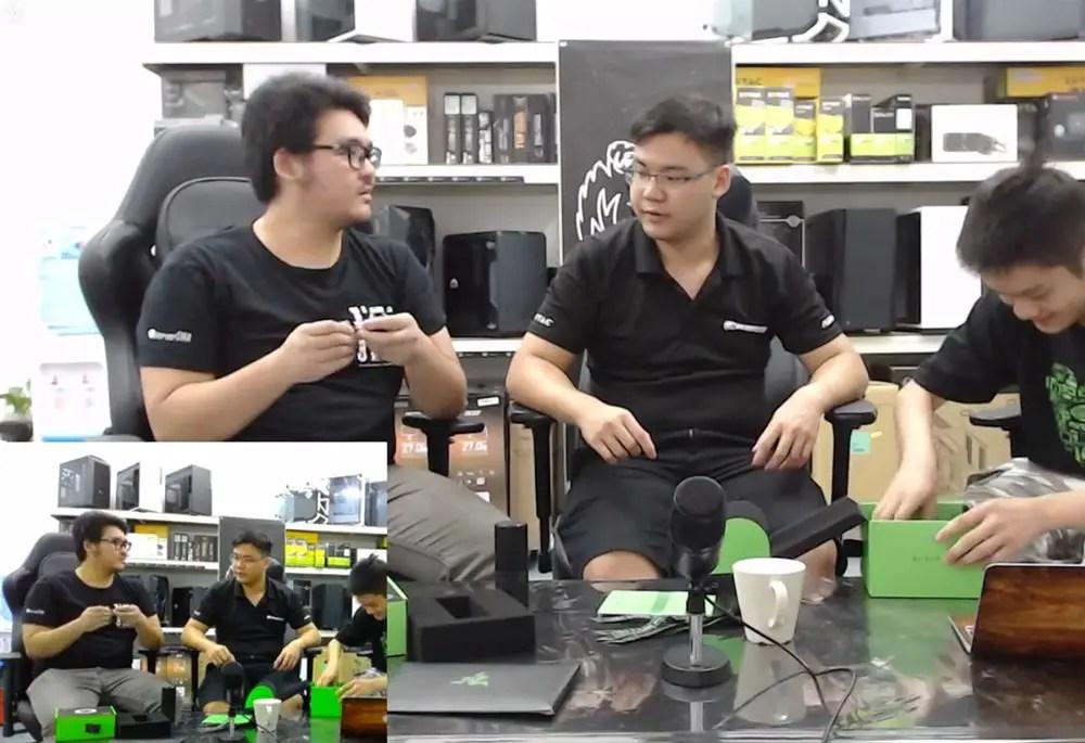 razer kiyo webcam demo comparison