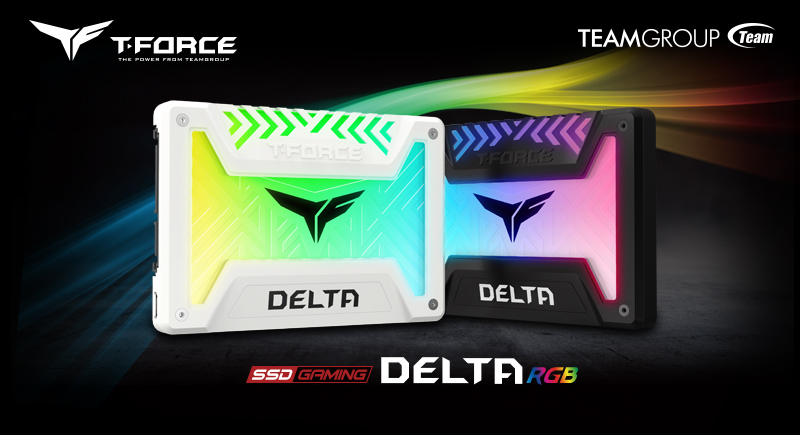 Teamgroup Launches New T-Force Delta RGB SSD 2