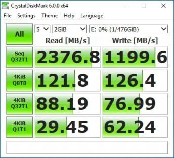 transcend mte850 crystal disk (fresh)