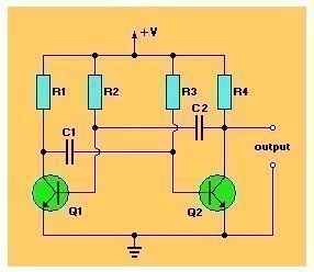 What Is An Astable Multivibrator