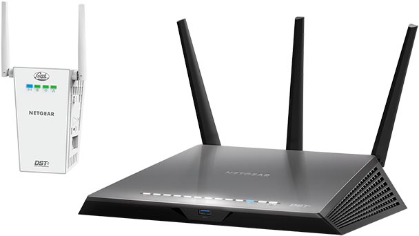Netgear Nighthawk R7300 Router and DST Adapter (1)