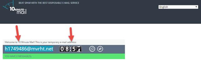أفضل 5 مواقع تقدم خدمة البريد الالكتروني المؤقت قاعة التقنية شروحات واخبار ونصائح تقنية