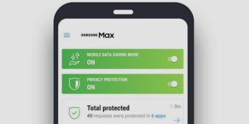 سامسونج تطلق تطبيق Samsung Max لتوفير البيانات وحماية الخصوصية