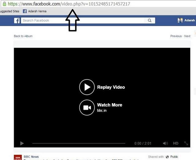 كيفية تحميل فيديوهات الفيسبوك العامة والخاصةكيفية تحميل فيديوهات الفيسبوك العامة والخاصة