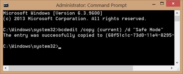 كيفية إضافة الوضع الآمن إلى قائمة الاقلاع فى ويندوز 8 و 10 Boot Menu