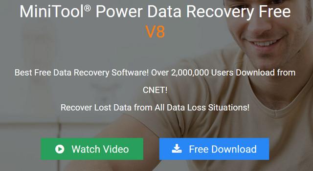 أفضل برنامج لاستعادة البيانات لنظام الويندوز MiniTool Power Data Recovery