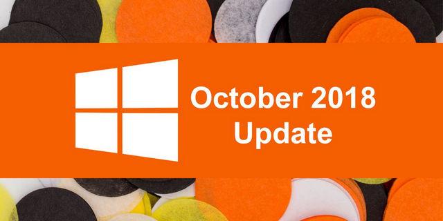 تحديث أكتوبر 2018 أصبح متاح رسمياً لمستخدمى ويندوز 10