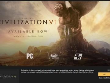 تحميل لعبة Civilization VI مجاناً من متجر Epic Games لفترة محدودة