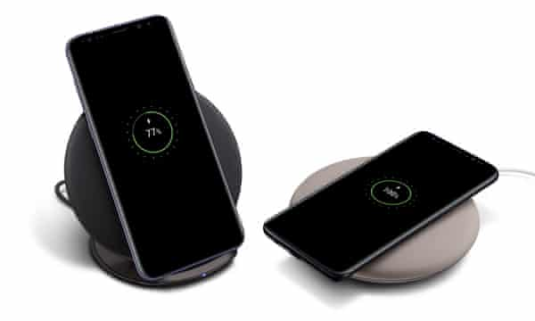 هواتف الاندرويد التي تدعم الشحن اللاسلكي wireless charging 2021