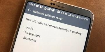 كيفية إعادة تعيين اعدادات الشبكة في هواتف وأجهزة الاندرويد