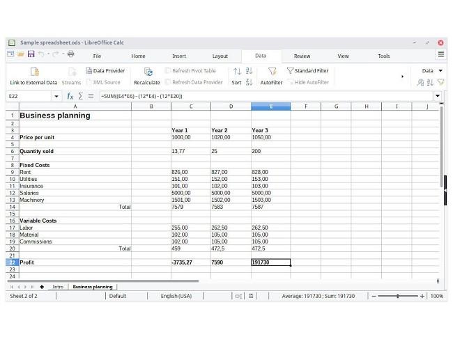 أفضل 5 بدائل مجانية لبرنامج ميكروسوفت إكسيل Microsoft Excel