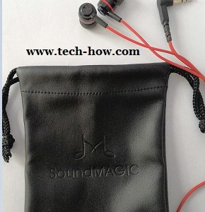 SoundMagic ES 18 earphones