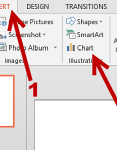Insert chart to powerpoint presentation also rotate pie rh tech recipes