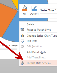 Format data series in chart powerpoint also rotate pie rh tech recipes