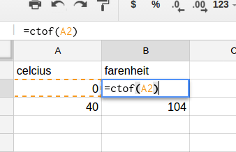 Google Sheets: How to Write a Custom Function