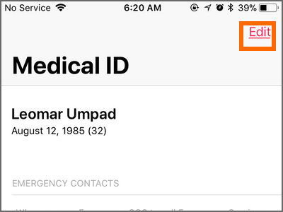 How to Add or Remove Emergency Contacts on iPhone