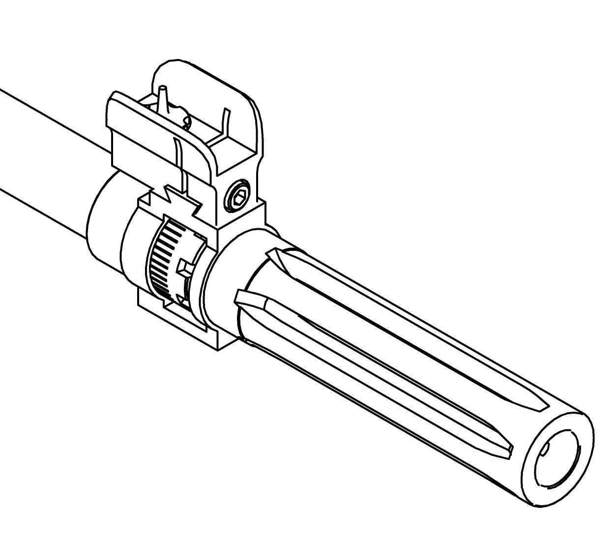 Adjustable Front Sight Tower for M14/M1A Scout Rifle