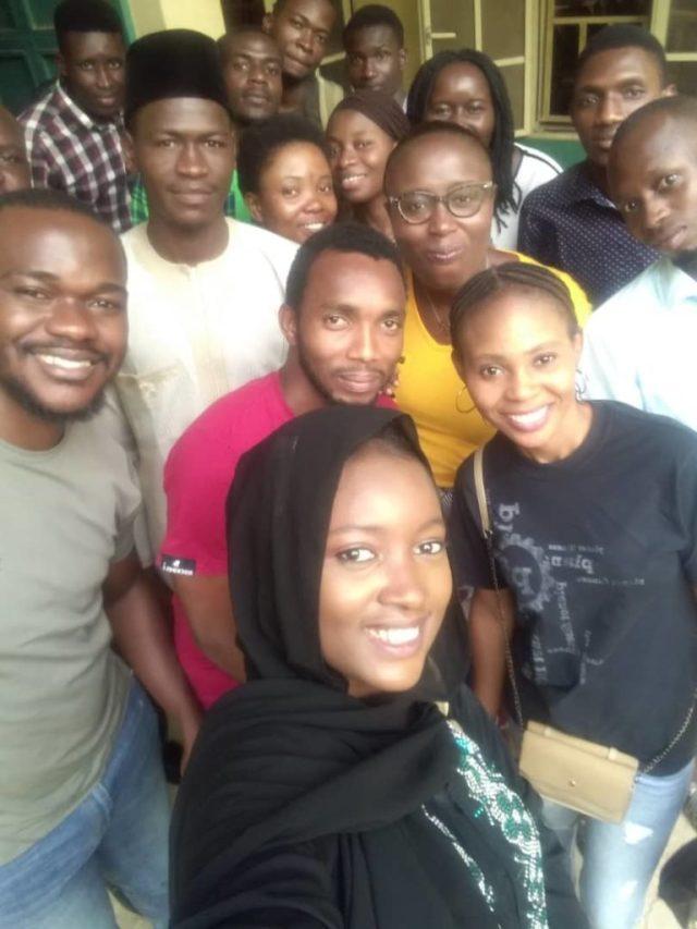 fauziyya hammawa, u can code class, group shot