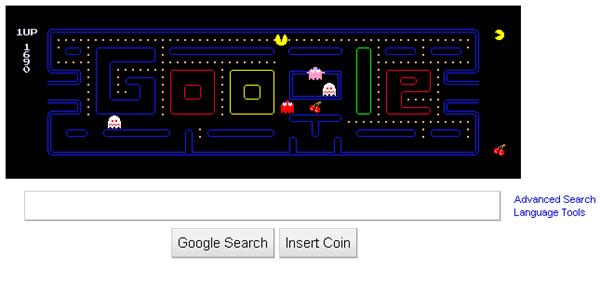 google-pac-man