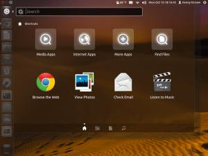 واجهة الاستخدام Unity في Ubuntu 11.10