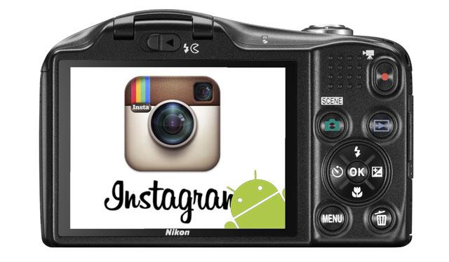 nikon instagram android 640 شركة نيكون تخطط لإطلاق كاميرا بنظام الأندرويد