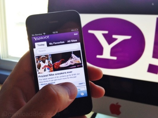 Yahoo-iPhone-