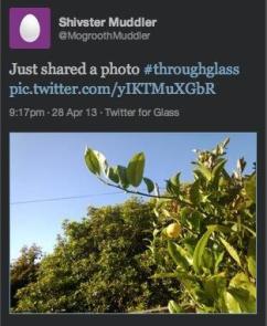 تويتر يعتزم إطلاق تطبيقه على نظارات جوجل2