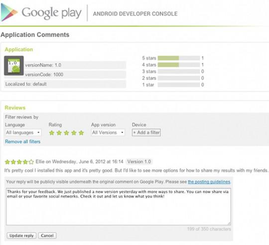 google-play-replying