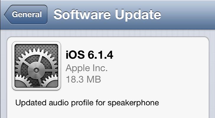 ios حمَّل: تحديث iOS 6.1.4 رسمياً للآيفون 5